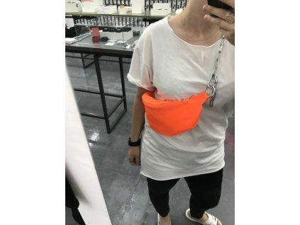 PRINCESS TIRAMISU Ledvinka - oranžová neon
