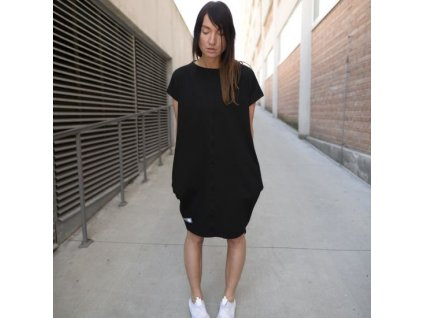 BIOGA šaty SABIO black - černé