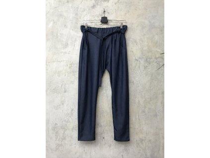 """KRAPA kalhoty se sníženým sedem světle modré """"jeansové"""""""