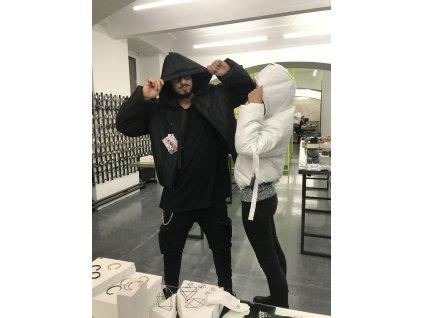 PRINCESS TIRAMISU zimní bunda pásnká černá pouffer bomber