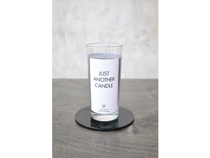 Things by E. - IRONIC CANDLES - JUST ANOTHER CANDLE / gray / šedá