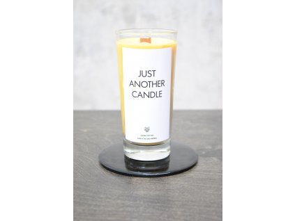 Things by E. - IRONIC CANDLES - JUST ANOTHER CANDLE / yellow - MANGO