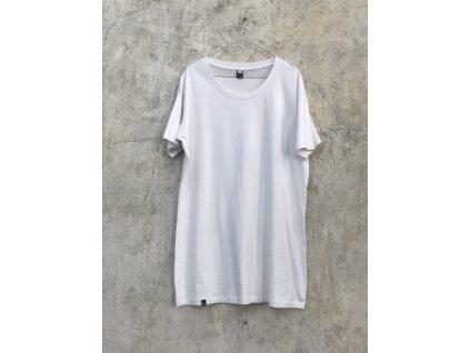 NTRXZ pánské tričko bílé bez potisku