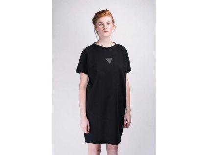 šaty černé artgi