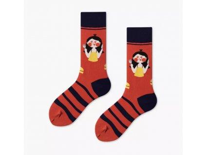 COUPLES Ponožky HUNGRY GIRL