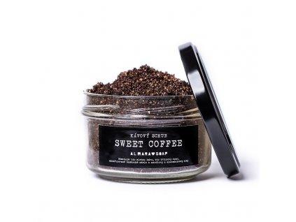 ALMARA SOAP přírodní kávový scrub SWEET COFFEE
