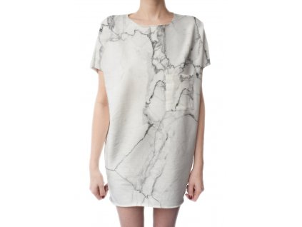 BUTTER KINGS Shirt Dress /marble