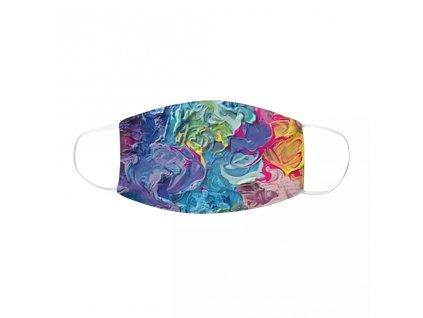 DARK barevná rouška s gumičkami - MIXED COLOUR I.