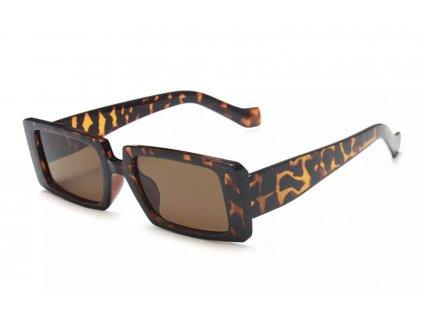 Sluneční brýle Rocka Shades Candy hranaté / havana turtle