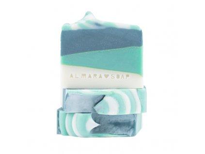 ALMARA SOAP přírodní fancy mýdlo GREEN TEA CUCUMBER