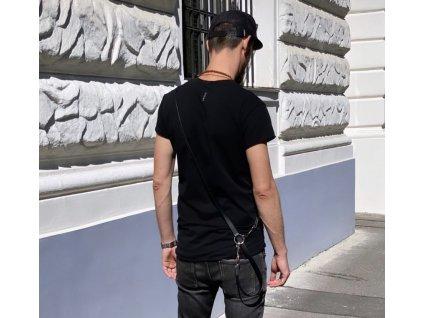 PARMA basic pánské tričko BLACK