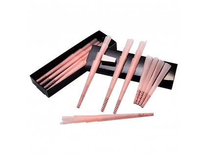 LADY HORNET dutinky na balení cigaret / růžové