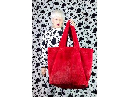 red velvet giga purse in cow set