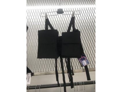PRINCESS TIRAMISU - chestbag - Hrudní taška / ledvinka / vesta - černá