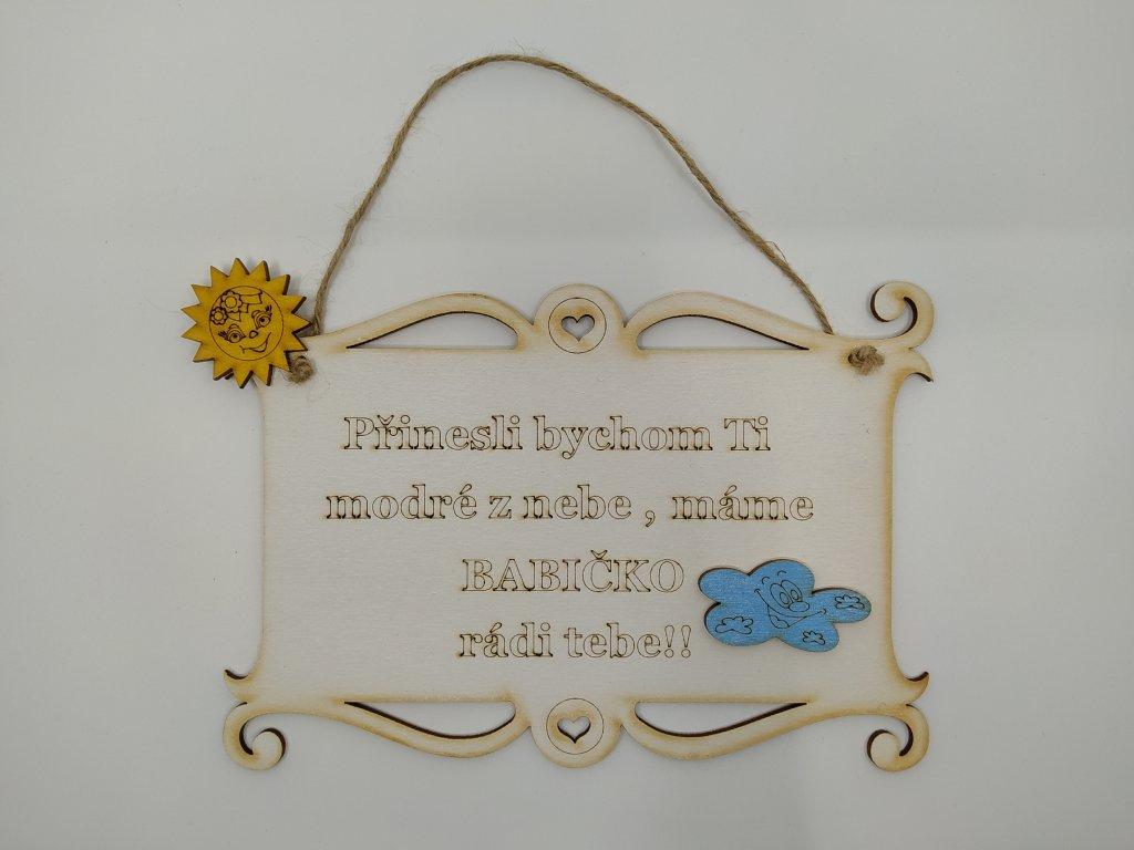 pergamen v babičko
