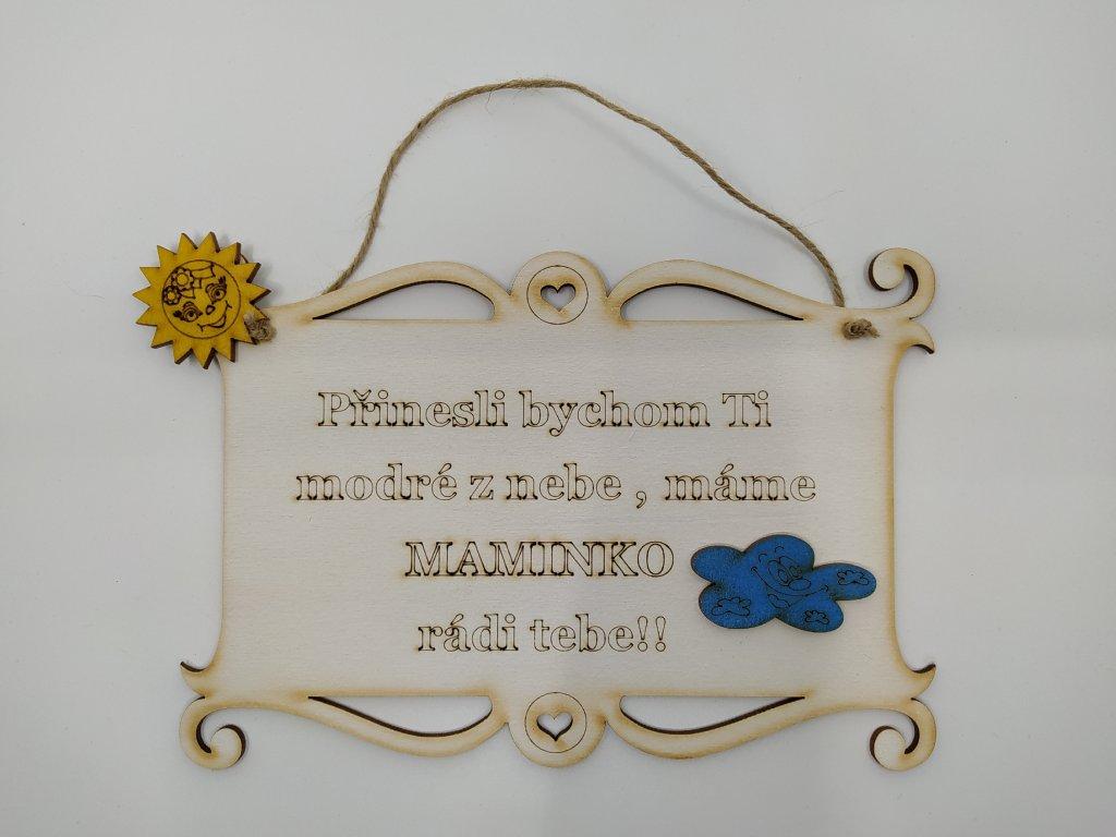 pergamen v maminko mracek