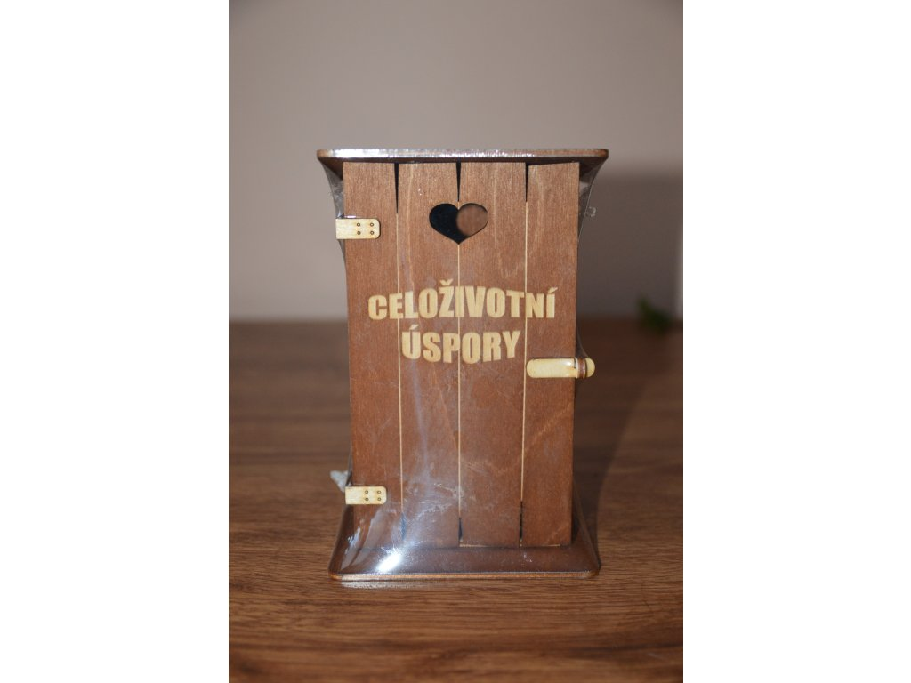Pokladnička kadibudka - Celoživotní úspory