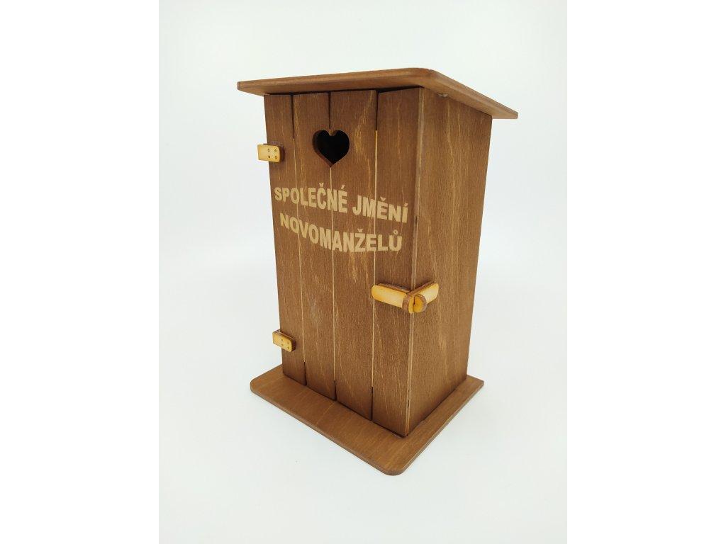 Pokladnička kadibudka - Společné jmění novomanželů