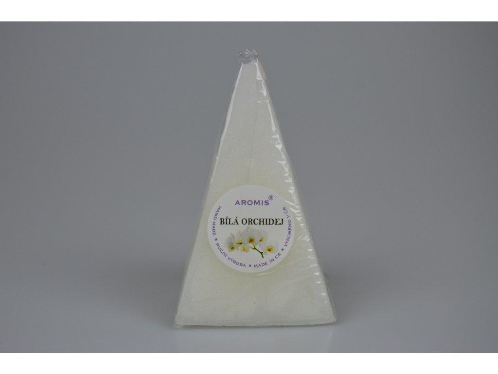Jehlan - Bílá orchidej