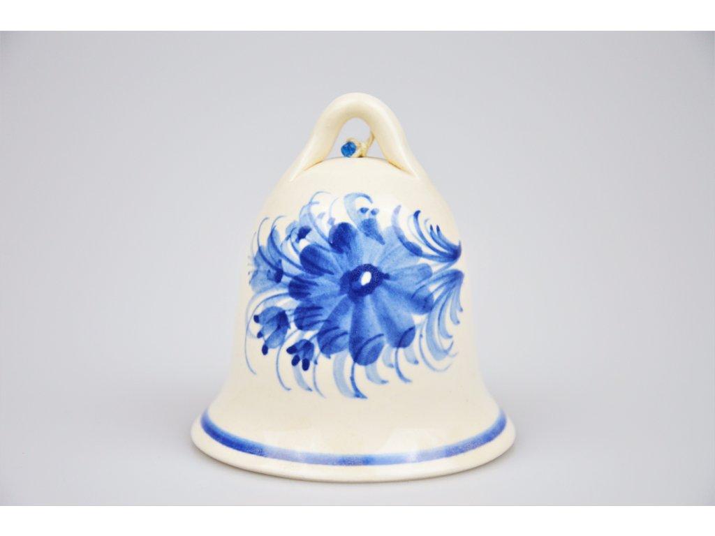 Hrdějovický keramický zvonek - S květy