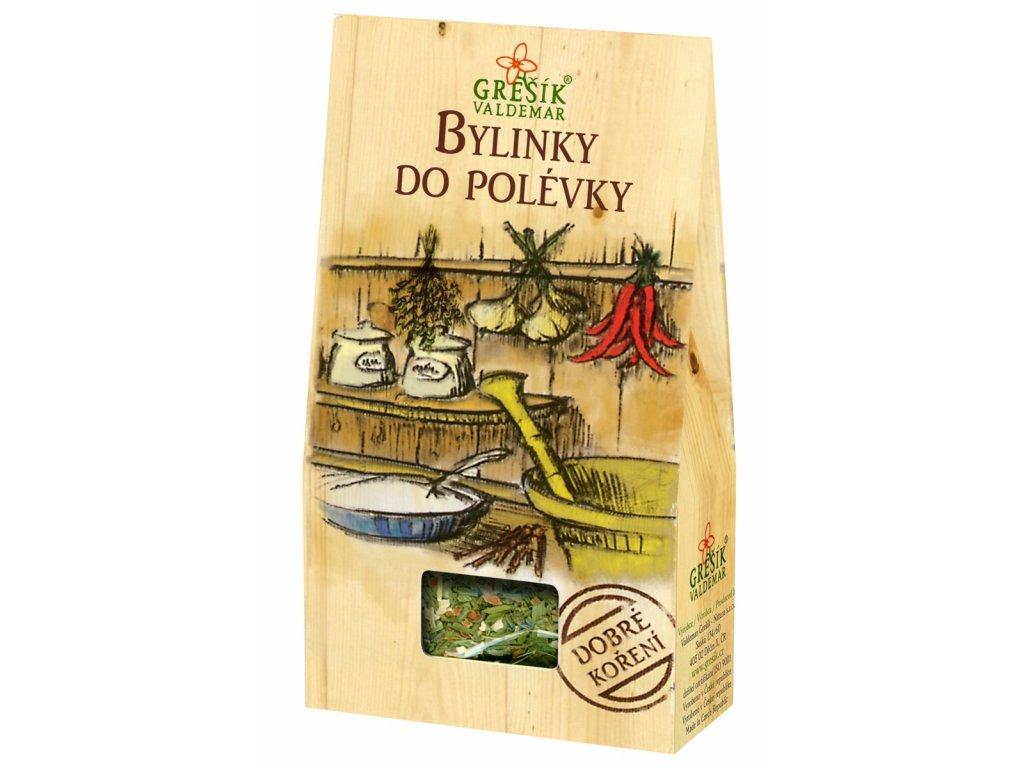 Dobré koření Grešík - Bylinky do polévky