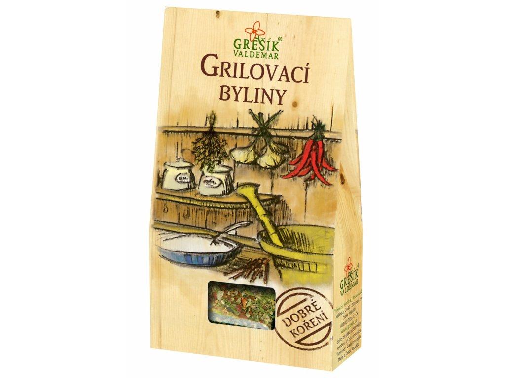Dobré koření Grešík - Grilovací byliny