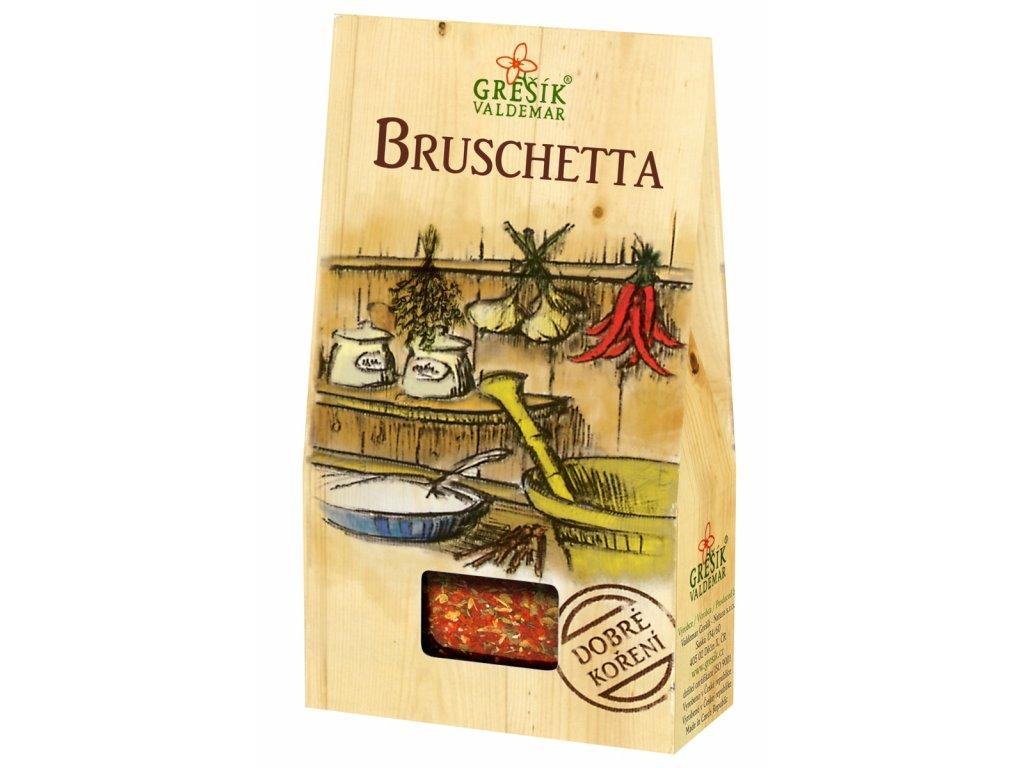 Dobré koření Grešík - Bruschetta