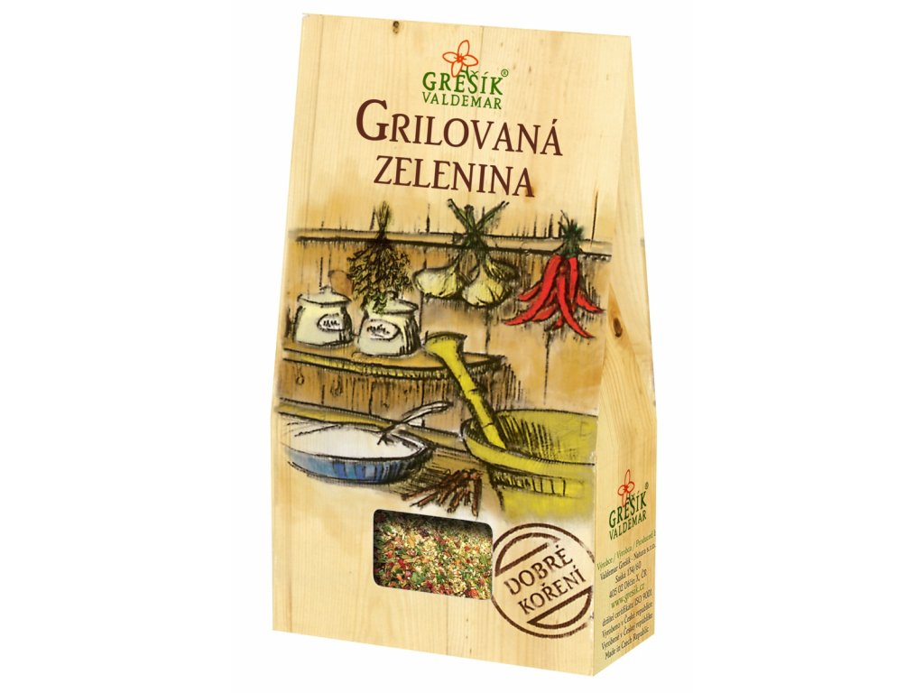 Dobré koření Grešík - Grilovaná zelenina