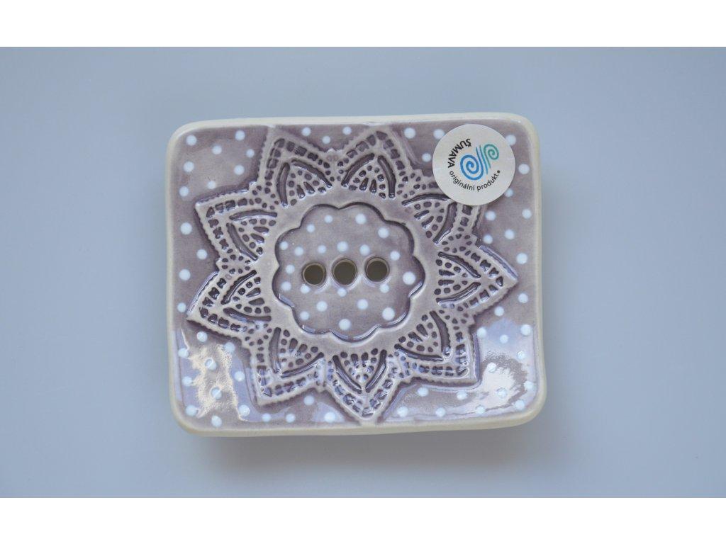 Mýdlenka - Šumava šedo- fialová