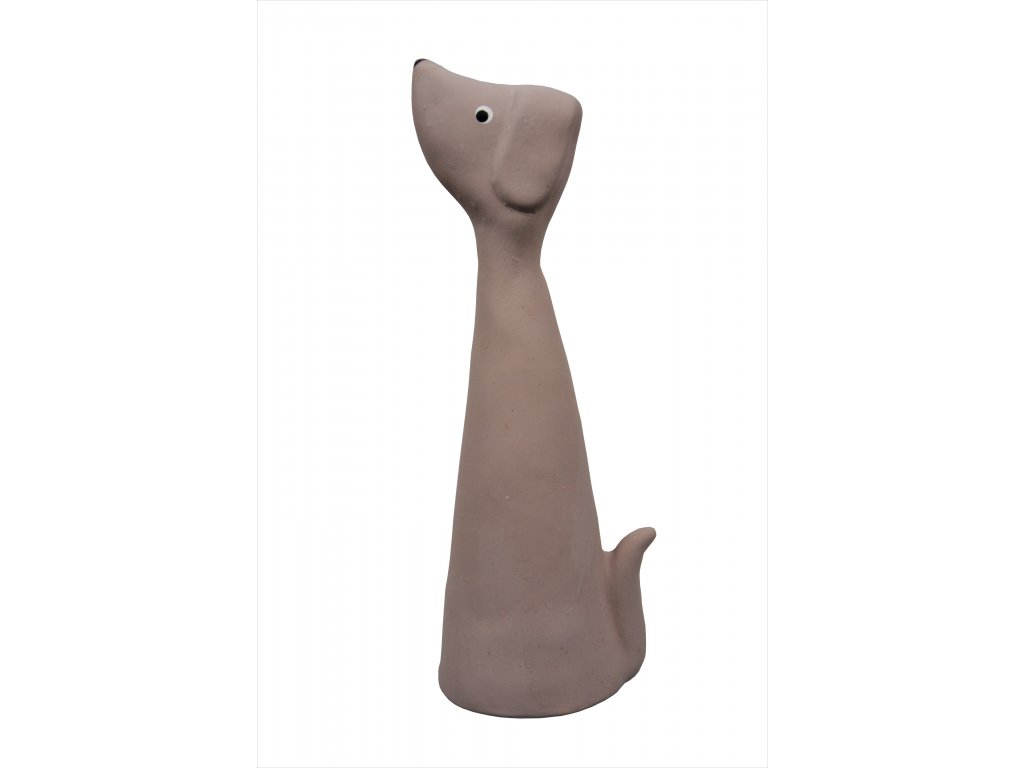 Keramický pes - soška
