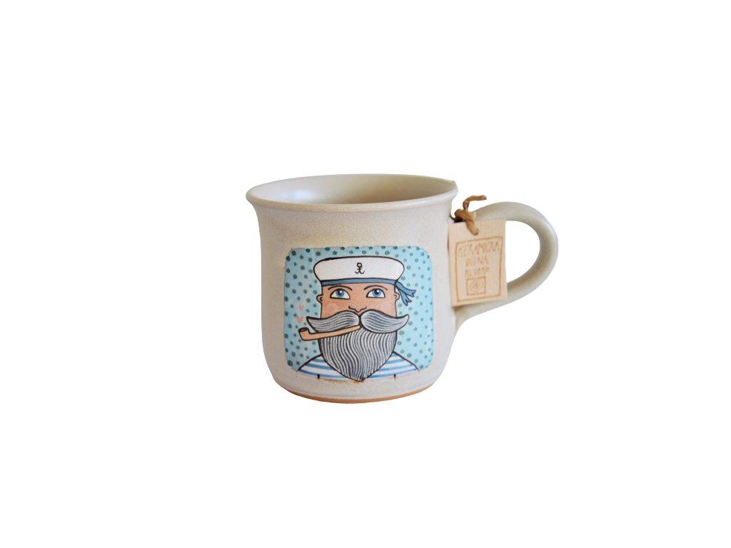 Hrnek keramický káva - Námořník