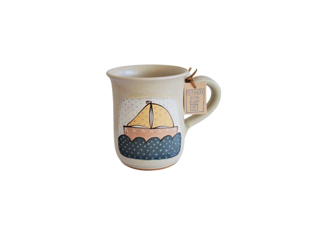 Hrnek keramický čaj - Plachetnice