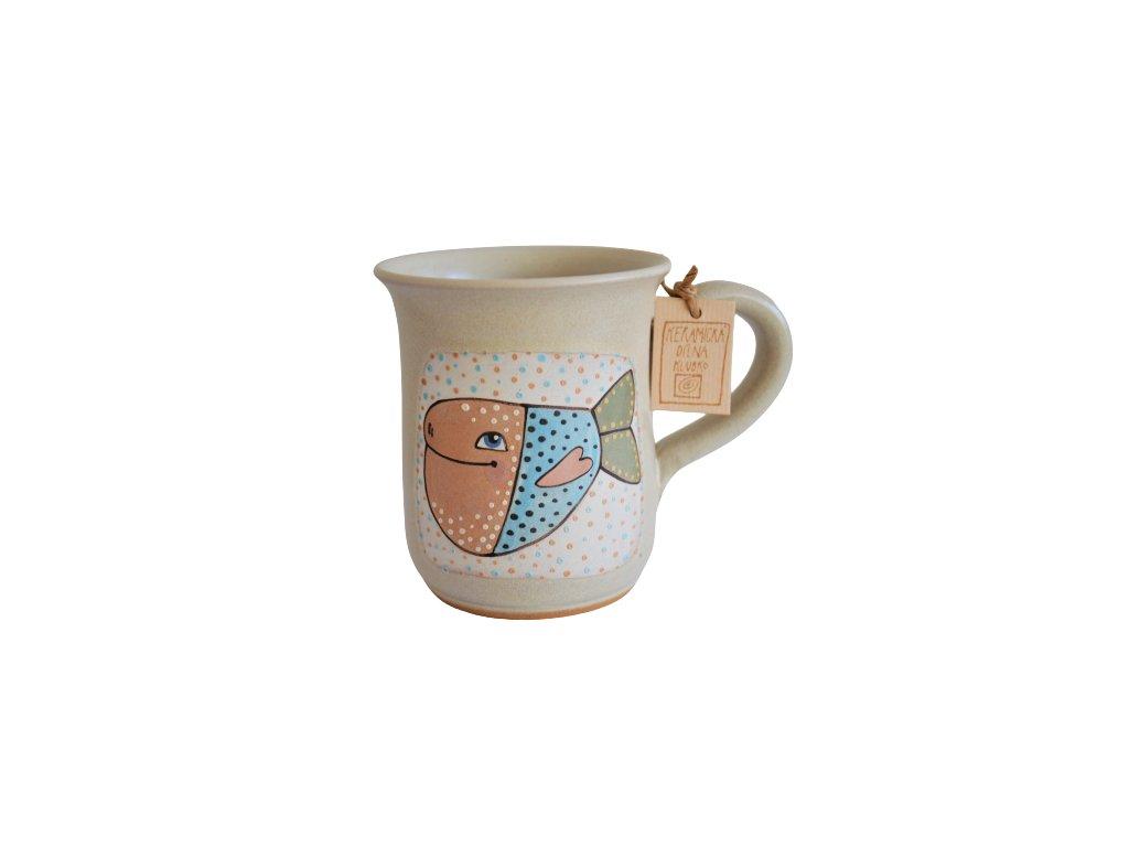 Hrnek keramický čaj - Rybka