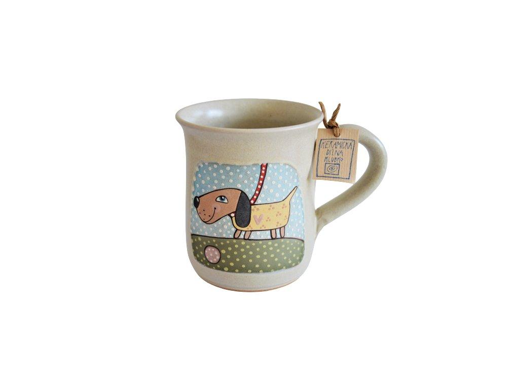 Hrnek keramický čaj - Pejsek