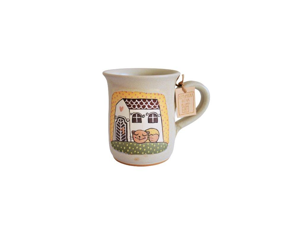 Hrnek keramický čaj - Kočka