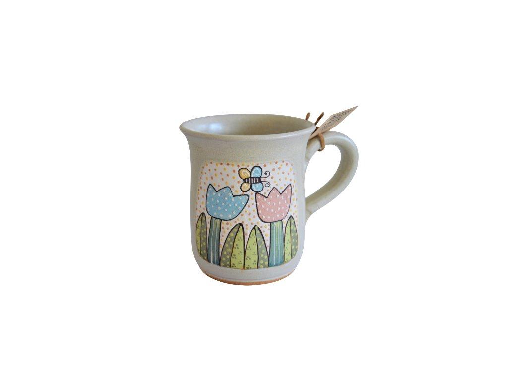 Hrnek keramický čaj - Tulipán