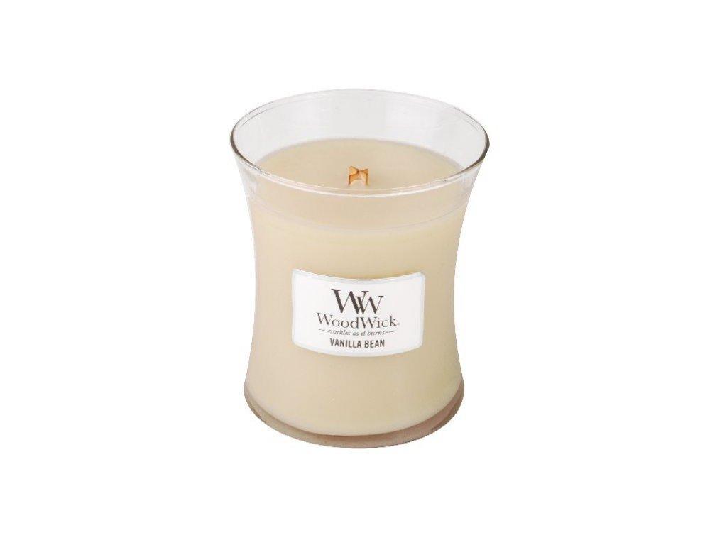 WoodWick Vanilla Bean váza střední