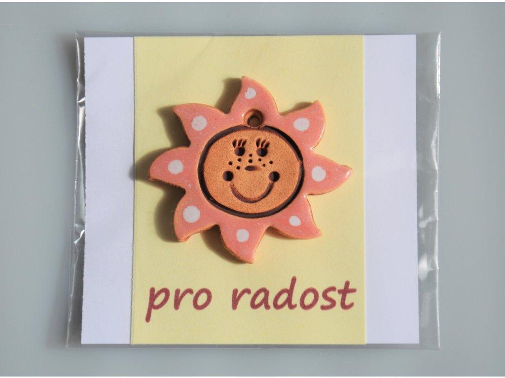 Sluníčko pro radost - růžové