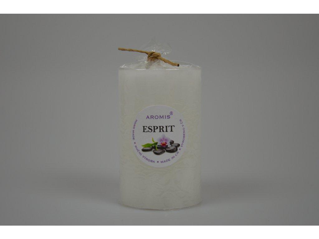 Svíčka Aromis válec bílá - Esprit