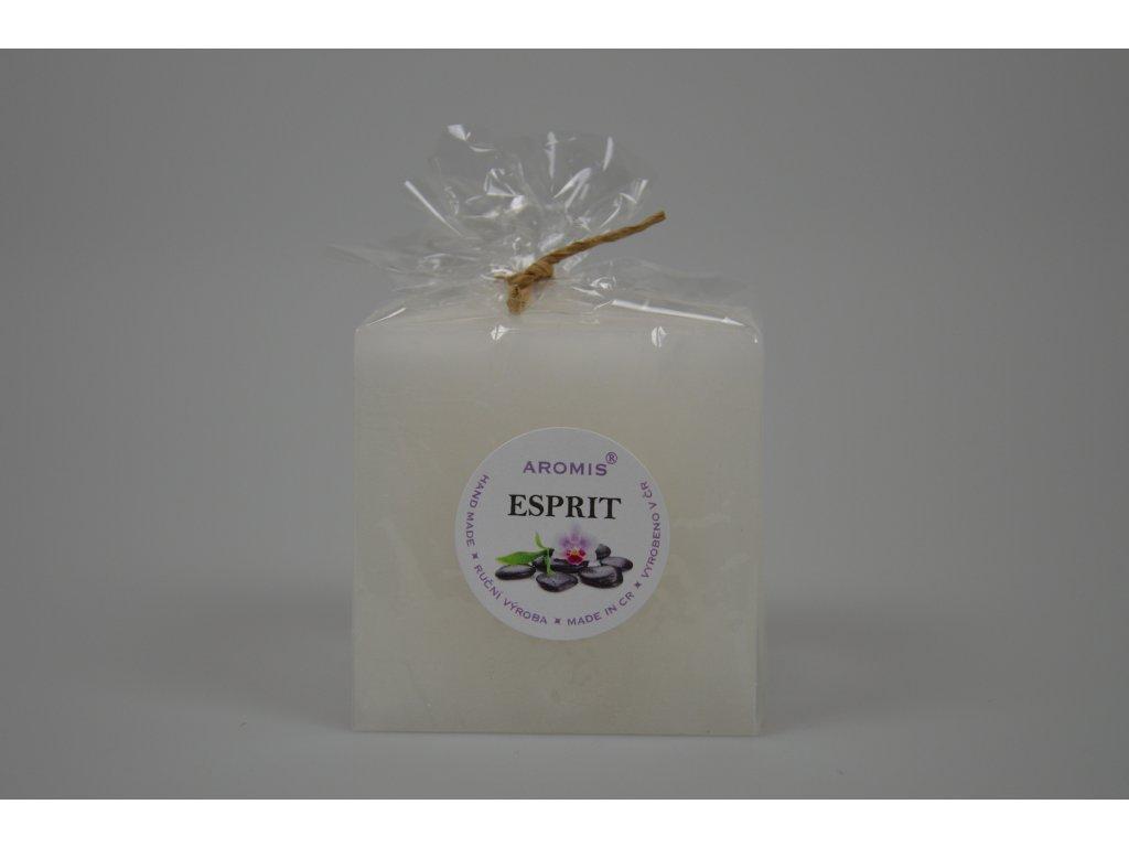 Svíčka Aromis kostka bílá - Esprit