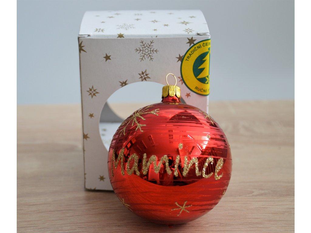 Vánoční ozdoba - Mamince