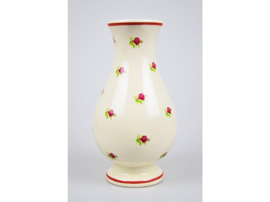 Keramická váza - Růže