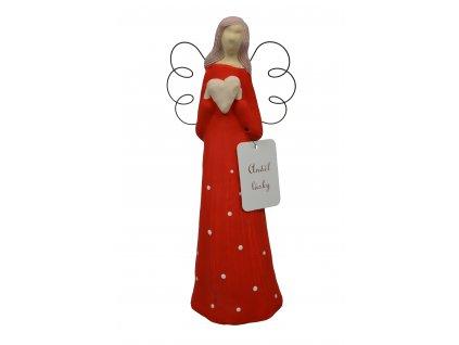 Anděl - Vysoký červený