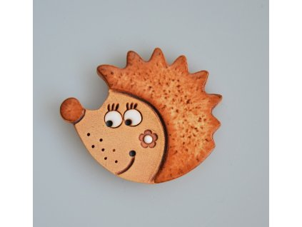 Keramický magnet - ježek