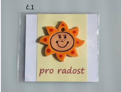 Sluníčko pro radost - oranžové