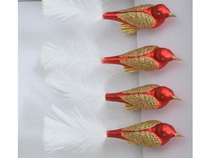 Vánoční ozdoba - Pták