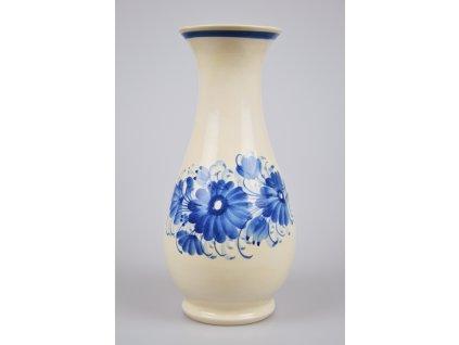 Hrdějovická keramická váza - S květy