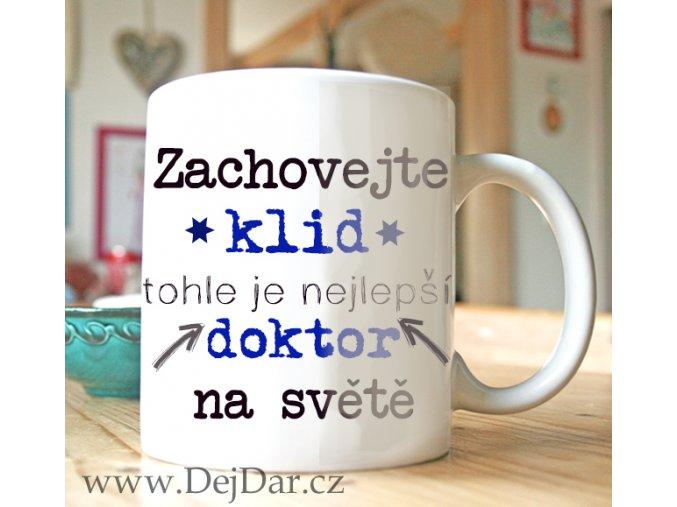 dárek pro doktora