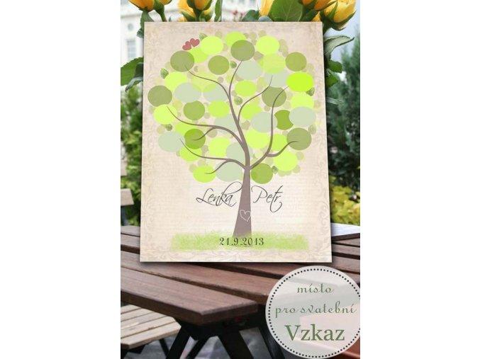 svatební strom