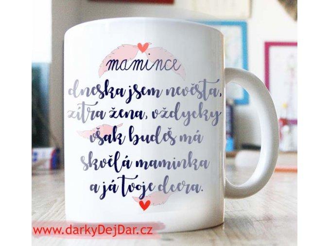 dárek pro maminku ke svatbě